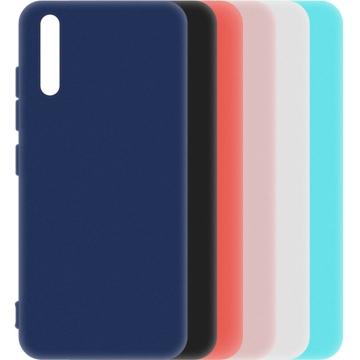 Матовый чехол Huawei P Smart S (силиконовая накладка)